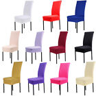 13 Colors Polyester For Wedding Party Chair Cover Dining Chair Seat Covers