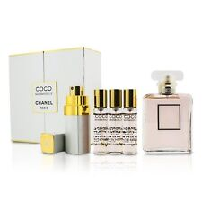 Chanel Coco Mademoiselle Coffret: EDP Spray + Purse Spray with 3 Refills Perfume