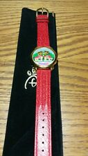 NEW DISNEYLAND MICKEY MOUSE TOONTOWN TRAIN ANIMATED WATCH