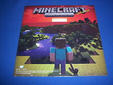 2014 official MINECRAFT wall calendar--LICENSED--sealed BRAND NEW--FREE SHIPPING