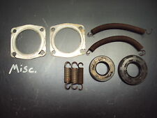 1980 80 SKI DOO CITATION 377 ROTAX SNOWMOBILE MISC PARTS GASKET SPRINGS BUSHING