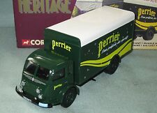 Z437 CORGI HERITAGE RENAULT FAINEANT PERRIER TRUCK CAMION 1/50 71301 NB
