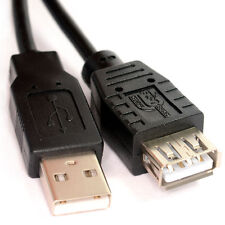 1m USB 2.0 EXTENSION Cable Lead A Male Plug to A Female Socket Short
