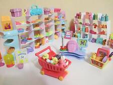 Littlest Pet Shop Lot Grocery Shopping Food Accessories 12 RANDOM 100% Authentic