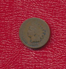 1877 Indian Head Cent -Key Date! *Nice Circulated Cent* Free Shipping!