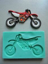 Silicone Mould DIRT BIKE Sugarcraft Cake Decorating Fondant / fimo mold