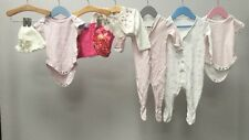 Baby Girls Clothing Bundle Age 3-6 Months. Monsoon, M&S, Tesco.  A1319