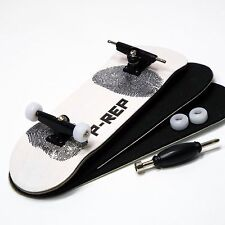 P-REP - 30mm Graphic Complete Wooden Fingerboard - Fingerprint
