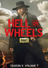 Hell on Wheels: Season 5, Vol. 1 Fifth Season Five (DVD, 2016)