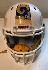 White Riddell Speed Helmet Adult Small 2012 Recert 2014