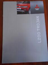 Mitsubishi L200 Trojan range brochure May 2012