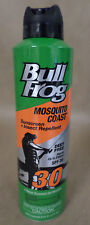 Bull Frog Sunscreen Plus Insect Repellent SPF 30 Mosquito Coast 6 oz Exp 03/19