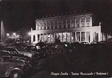 REGGIO EMILIA - Teatro Municipale (Notturno) 1959
