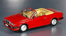 CB21 Maserati Biturbo Spyder 1985 Red 1/43 Scale New on Plynth