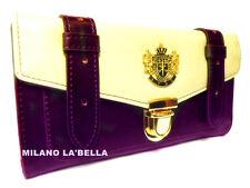 Black LYDC Designer Womens Celebrity Vintage Satchel Purse Wallet Boxed 4 colors