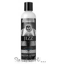 Jizz Water Based CUM Scented Lube SLICK Creamy MUSKY Scented SPERM Lubricant