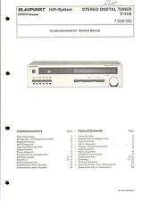 Blaupunkt Original Service Manual  für T-110