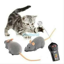 New Remote Control RC Rat  Cute Mouse Wireless For Cat Dog Pet Toy Novelty Gift