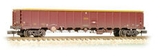 Farish N 377-650A MBA Megabox High-sided Bogie Box Wagon w.Buffers EWS weathered
