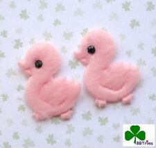 "US SELLER - 60 x 1"" Padded Felt Baby Duckies Appliques for Bow/Scrapbook ST225P"