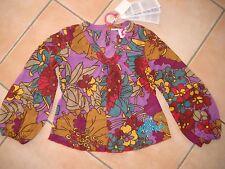 (64) NoLIta Pocket Girls blusa túnica globo mangas y logotipo brillo presión gr.116