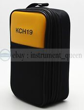 Double Layer Zipper Carrying Case / Bag for FLUKE HIOKI SANWA UNI-T Multimeters