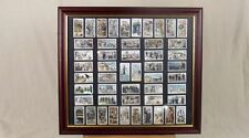 "Framed Full Set Player's Cigarettes ""Life Aboard A Man O'War"" (1805 to 1905) 50"