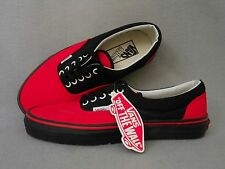 VANS Women's Red/Orange & Black Canvas Shoes Size 9.5 *BRAND NEW*