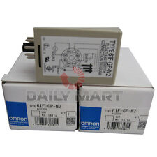 New in Box Omron 61F-GP-N2 Conductive Floatless Level Switch Controller