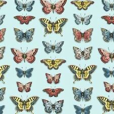 Andover Vintage Journal 1576 1 Butterflies BTY Cotton Fabric