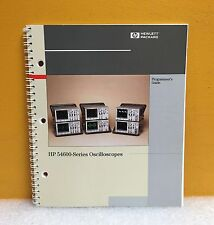 HP / Agilent 54600-97014, 54600-Series Oscilloscopes Programmer's Guide