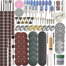New 217pcs Rotary Tool Accessory Set - Fits Dremel - Grinding,Sanding,Polishing