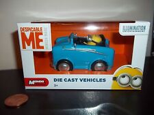 Despicable Me Minion Die-Cast Car,Dave Convertible,See Others & Combine,Minions