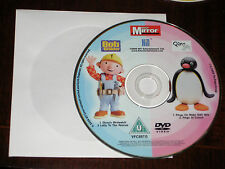 Bob The Builder & Pingu - 4 Episodes (DVD), Supplied In Plain Sleeve (See Photo)