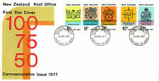 NEW ZEALAND 1977 COMMEMORATIVES SET ON AN ILLUSTRATED FIRST DAY COVER (a)