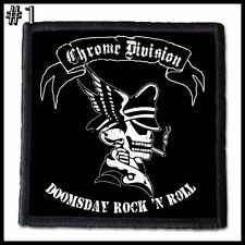 CHROME DIVISION  --- Patch / Aufnäher --- Various Designs
