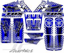 Yamaha banshee full graphics kit blue...