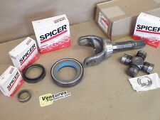 OUTER AXLE SHAFT SEALS BEARING KIT WITH GREASABLE U JOINT FORD DANA 50  60 FRONT