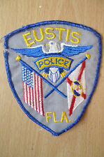 Patches: EUSTIS FLORIDA POLICE PATCH (NEW* apx. 12x9.5 cm)
