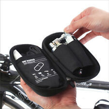 BM WORKS Tool Capsule Mini Cycling Tool Bottle Zip Bag for Water Bottle Cage BLK