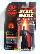 STAR WARS EPISODE 1 DARTH MAUL SITH LORD / COMM-TECH CHIP / MOC