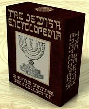 THE JEWISH ENCYCLOPEDIA 1901-06 12 Vols on DVD +13 Bonus E-Books Judaism, Jews
