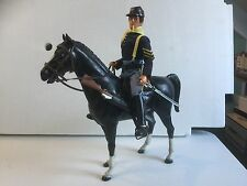 VINTAGE ACTION MAN GI JOE 7TH CAVALRY SOLDIER, Complete W/ HORSE NICE!