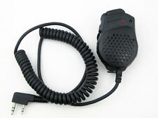 Dual Push-To-Talk PTT Speaker Mic For Baofeng UV82 L UV8 D UV5R A Two Way Radio