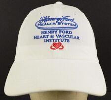 Henry Ford Health System Heart & Vascular Institute Baseball Cap Hat Adjustable