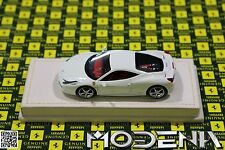 Original Ferrari 458 Coupe bianco 19 Modellauto 1:43 MR Collection wie BBR