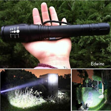 Super Bright 5000LM XML T6 LED Flashlight Focus Torch Zoomable 5 Mode Light Lamp
