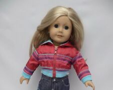 Retired American Girl  Doll Jeans to 2004 Ready for Fun Meet Outfit jacket only