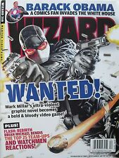 WANTED! MARK MILLAR April 2009 Wizard Magazine BARACK OBAMA  NEW