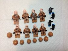 LEGO STAR WARS Mini figure lot 8 Geonosis Troopers Army builder from set 75089